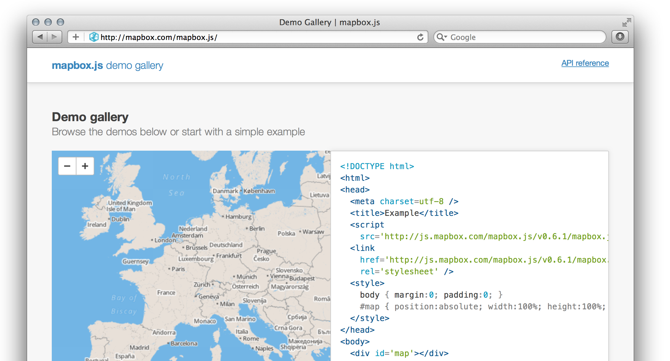 Introducing the MapBox JavaScript API | Mapbox