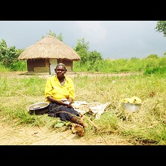 This lady is 70 & harvests beans & peanuts & then walks 2 km to sell it.
