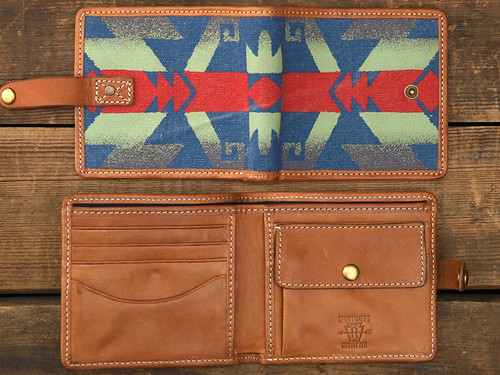 Rugby / Southwestern-Print Wallet