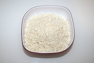 06 - Zutat Risotto-Reis / Ingredient risotto rice
