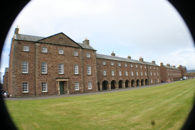 Inside Fort George, Inverness