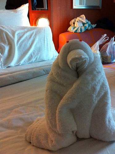 Norwegian Pearl - Pengy Towel Animal