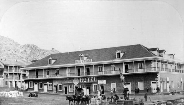 el impresionante Hotel de France de Coquimbo 1867