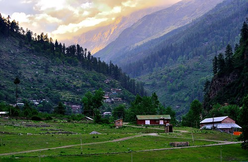 Village Kafnu, Bhabha Valley, Kinnaur, Himachal Predesh, India