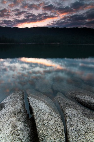 summer cloud lake water rock clouds sunrise bass basslake basslakesunrise