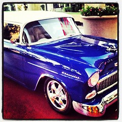 55' Chevy !!! Killer!! #badassride #eldorado #pimpin