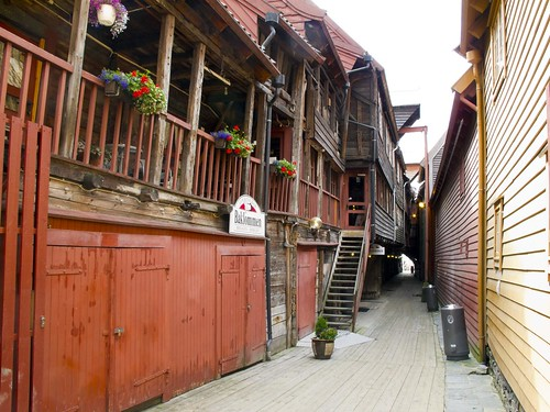 19 Calles interior Bryggen
