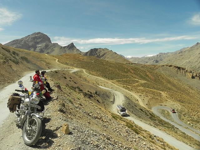 Gata Loops, From Sarchu towards Leh, Ladakh