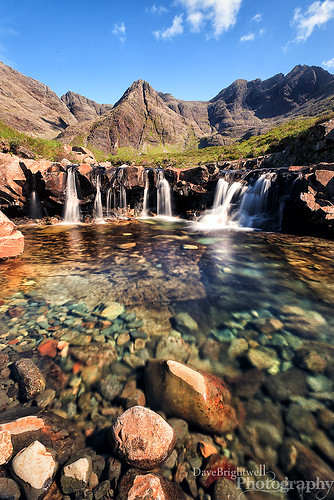 The Fairy Pools by Dave Brightwell