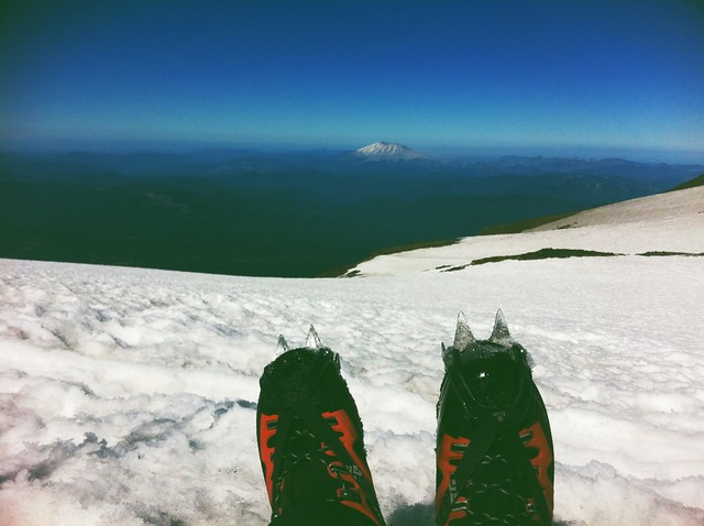 Mt Adams Summit View