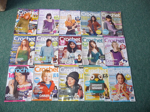Inside Crochet magazines. 'For Sale'.
