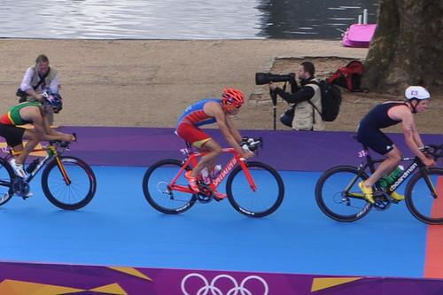 Triatlon Juegos Olímpicos Londres 2012 – Final Masculina - Javier Gómez Noya - Medalla de Plata