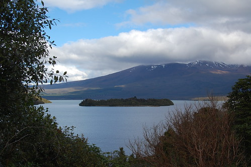 Mt Tongariro.  Less than 12 hours after this photo was taken it erupted!