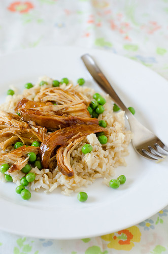 Apricot Sesame Crock Pot Chicken