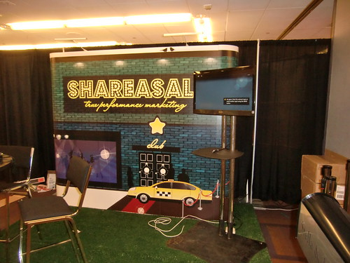 Building the ShareASale Booth at Affiliate Summit East 2012