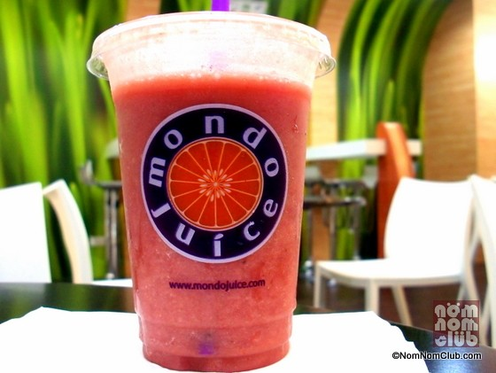 Mondo Juice Fruit Smoothie