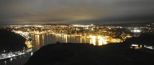 Signal Hill at Night