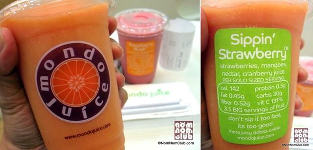 Mondo Juice Sippin' Strawberry