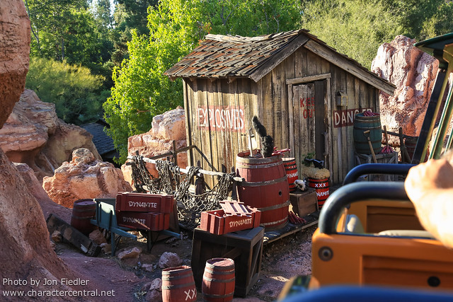 Disneyland July 2012 - Big Thunder Mountain Railroad