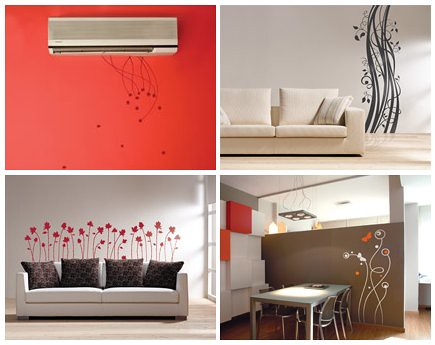 Vinilos decorativos alternativa econ mica para for Diseno de interiores vinilos decorativos
