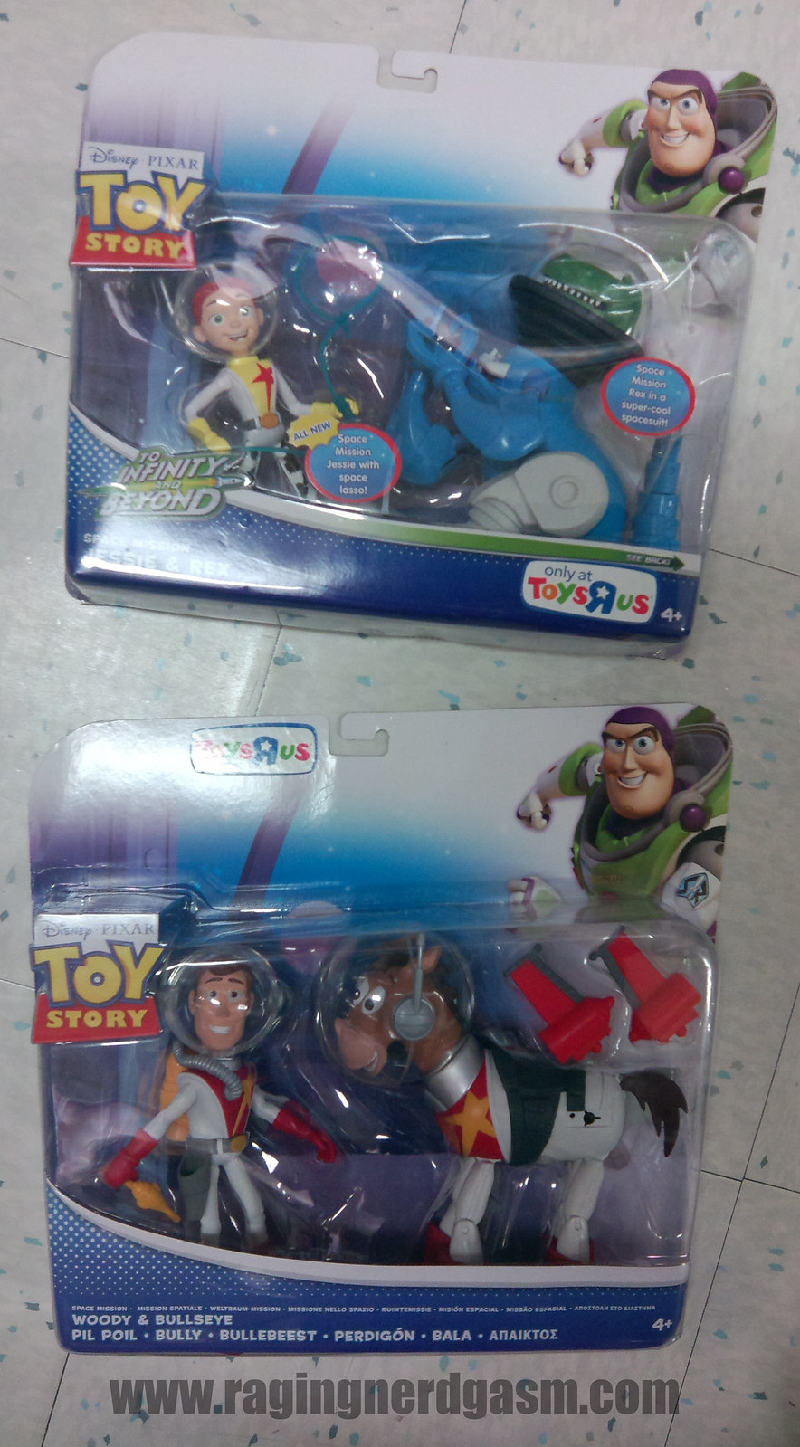 Pixar's Toy story Action FiguresSpace Mission_01