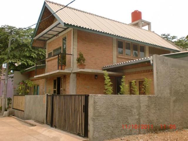 karya arsitektur rumah sederhana minim budget arsitek