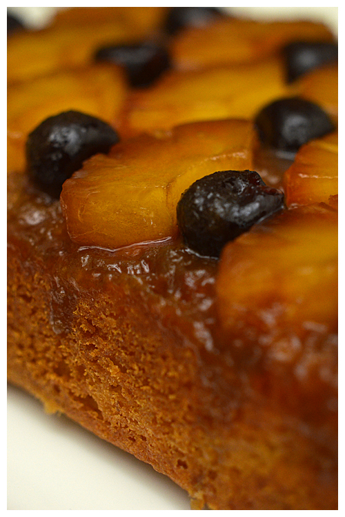 Pineapple Amarena Upside Down Cake© by Haalo