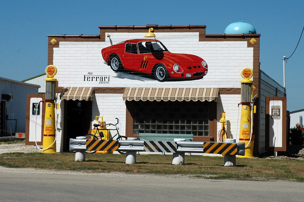 Feddersen's Garage, Dwight, IL