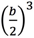 (b/2)^3