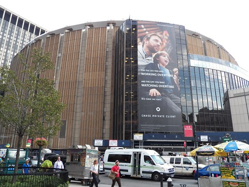 Madison Square Garden, Aug. 2012