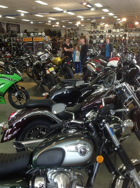 Trav buying bike