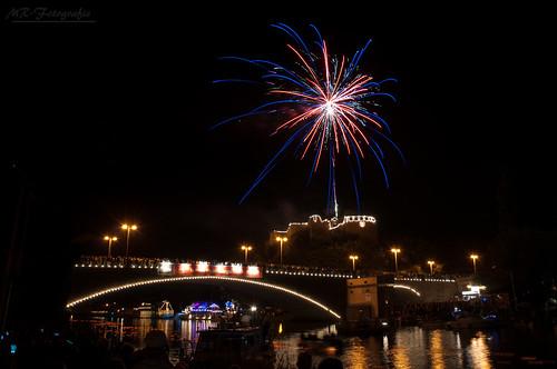 fireworks at lantern festival Halle/Saale 2012