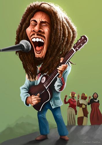 Bob Marley by Carlos Castro Pérez