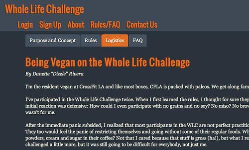 VeganWLC