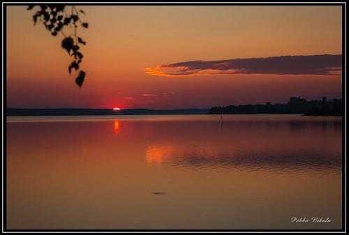 lake nature water sunrise finland landscape tampere näsijärvi auringonnousu santalahti onkiniemi