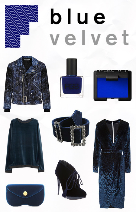 PRIVATE ICON BLUE VELVET
