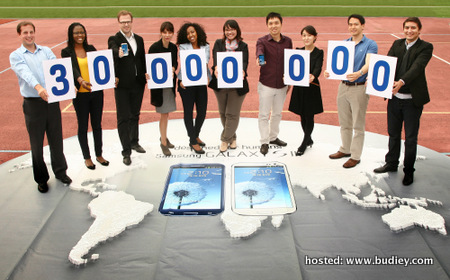 Samsung GALAXY S III Achieves 30 Million Sales in Five Months