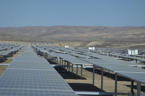 Solar Panels at California Valley Solar Ranch 3