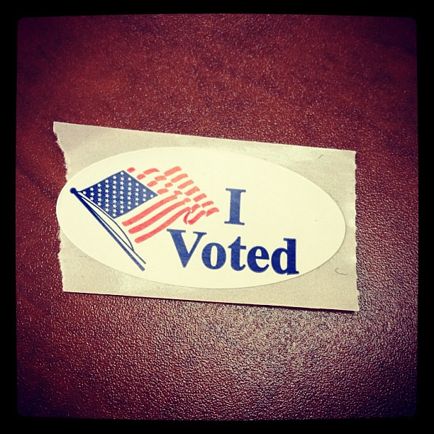 Day 6 of #novemberthankful Today I am thankful to live in a country where voting is encouraged. I am thankful to have the freedom to voice my opinion and to make a difference.