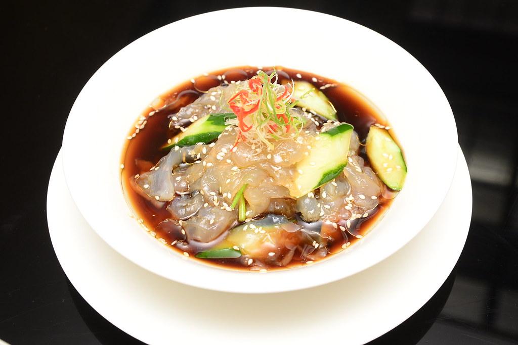 台北君悅正宗寧波料理 - 脆瓜拌海蜇