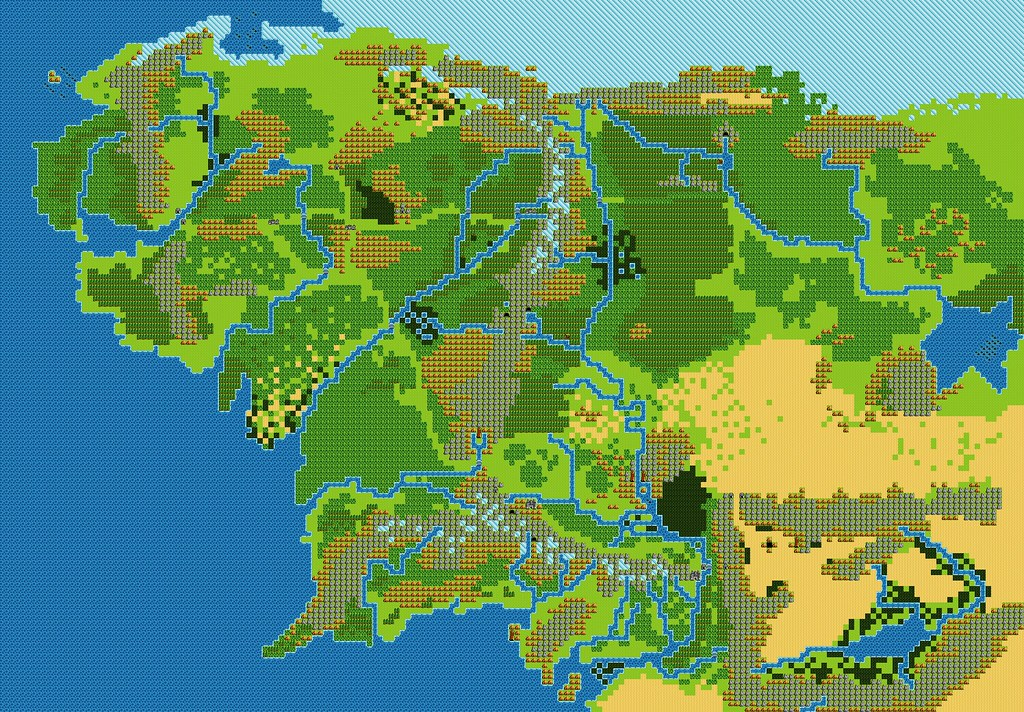 Middle Earthdragon Warrior 3 Style Vector Map V10 Flickr