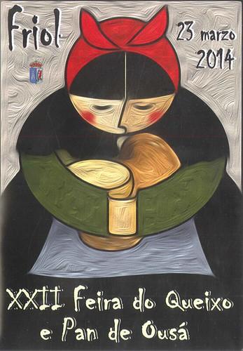 Friol_2014_-_XXII_Feira_do_Queixo_e_Pan_de_Ousá_-_cartel