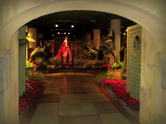 Portal to the flower show