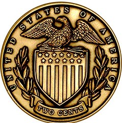 National Motto medal reverse