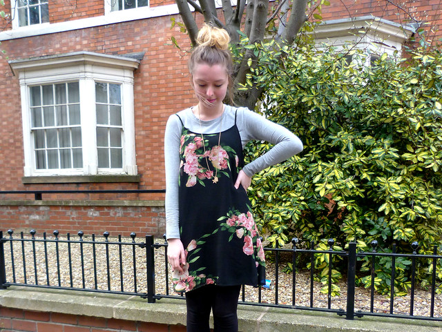 Floral cami dress | #fbloggers | Jazzpad