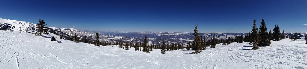 Panorama from Burnt Mountain Glades
