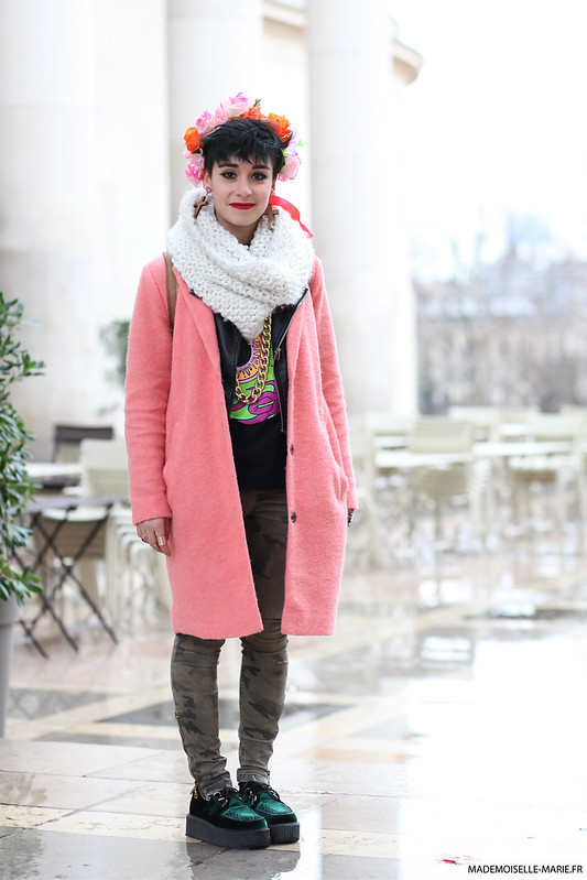 Street style Miranda in Banana Paris