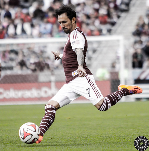 Vicente Sanchez, Colorado Rapids vs San Jose Earth Quakes, Denver Photographer, Photographer Denver, Colorado Rapids Player Vicente Sanchez