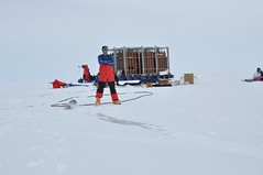 Ballooning in the constant sun of the South Pole summer