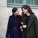 Giovanna Battaglia and Sara Battaglia at Paris fashion week